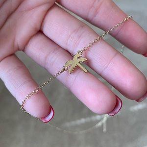 Jewelry - Gold palm tree necklace!